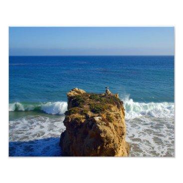 Beach Themed Malibu Beach 14x11 Photo Print