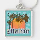 Malibu Beach California CA Keychain
