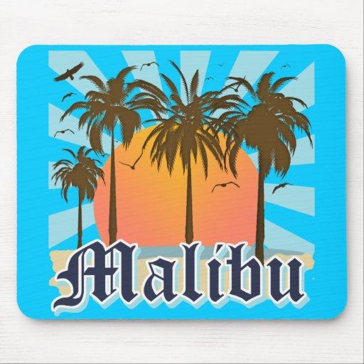 Malibu Beach California CA Mouse Pad