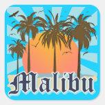 Malibu Beach California CA Sticker