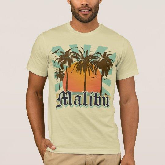 Malibu Beach California CA T-Shirt