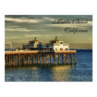 Malibu Beach, California Post Card