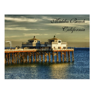 Malibu Beach, California Postcard