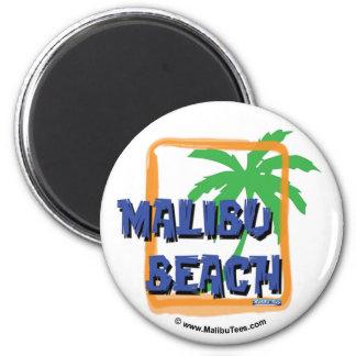 Malibu Beach Palm Tree Magnet