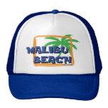 Malibu Beach Palm Tree Mesh Hats