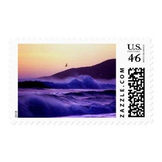 Malibu Beach stamp
