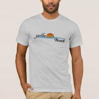 Malibu Beach Sunset T-Shirt
