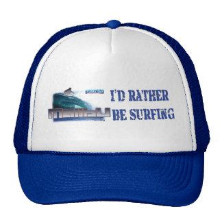 Malibu Beach Surfing Trucker Hats