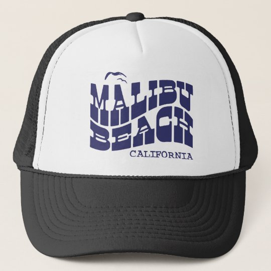 Malibu Beach Trucker Hat