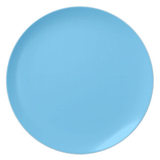 Malibu Blue Plate
