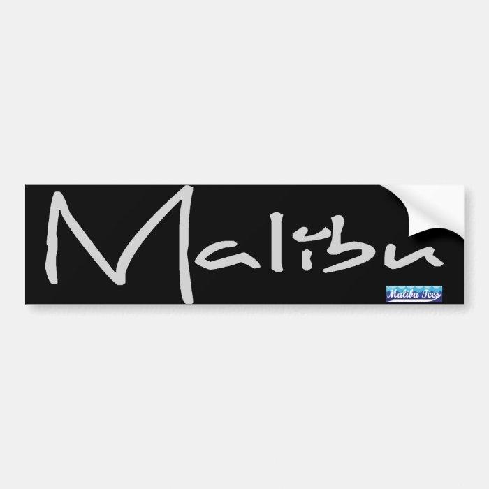 Malibu Bumper Sticker