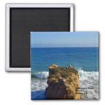 Malibu CA Beach Magnet
