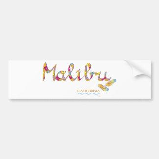 Malibu, CA Bumper Sticker