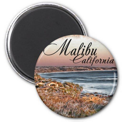 Malibu CA Imán Redondo 5 Cm