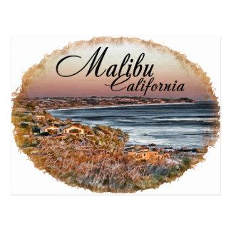 Malibu CA Postcard