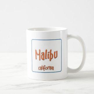Malibu California BlueBox Coffee Mug