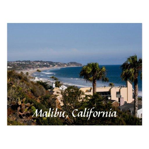 Malibu, California Postales
