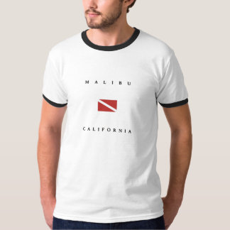 Malibu California Scuba Dive Flag T-Shirt