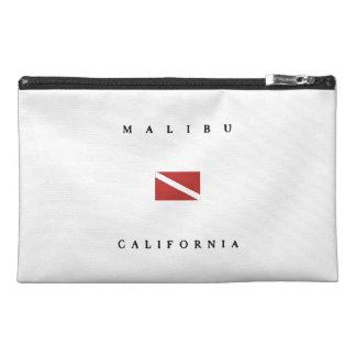 Malibu California Scuba Dive Flag Travel Accessory Bag