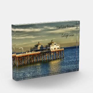 Malibu California Souvenir Acrylic Award