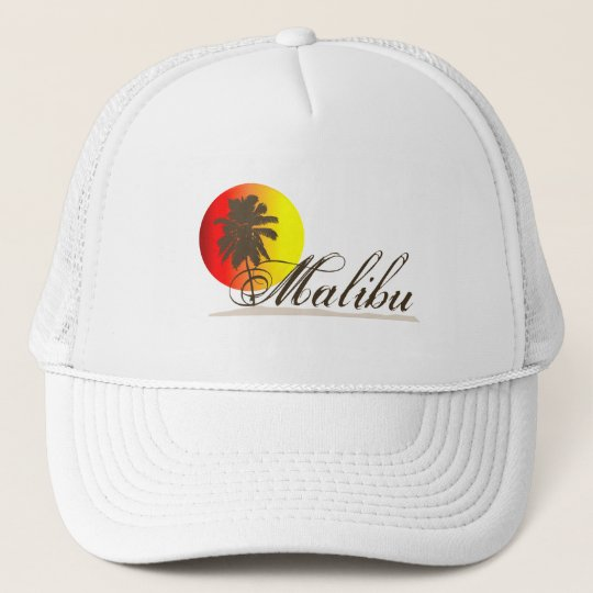 Malibu California Souvenir Trucker Hat