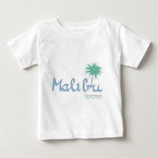 Malibu, camiseta linda del bebé de CA