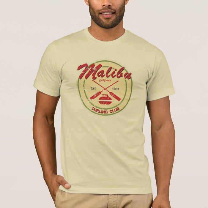 Malibu Curling Club distressed t-shirt