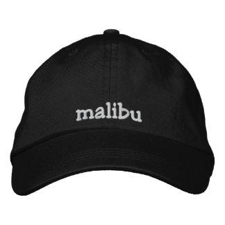 malibu embroidered baseball hat