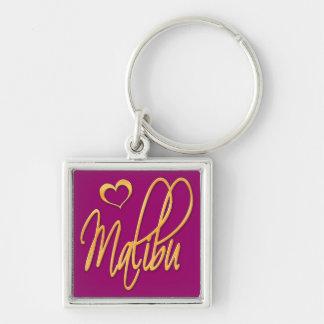 Malibu Keychain