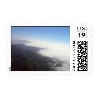 Malibu Marine Layer Postage Stamp