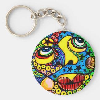 Malibu Moon Keychain