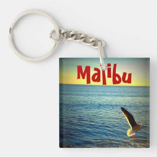 Malibu, Pacific Ocean view Keychain