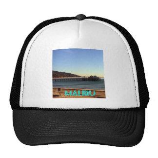 Malibu Pier and Surfrider Beach Photo, Malibu, CA Trucker Hat