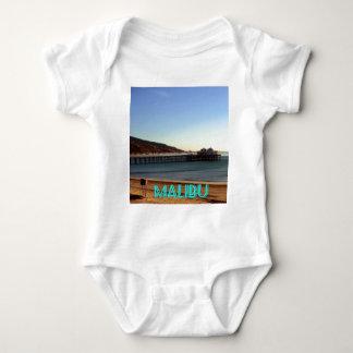 Malibu Pier and Surfrider Beach Photo, Malibu, CA Tshirts