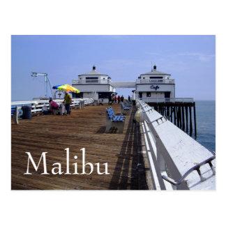Malibu Pier, California Postcard