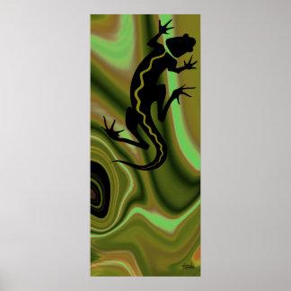 Malibu Salamander Print (willow/sage)