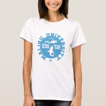 Beach Themed Malibu Scuba T-Shirt