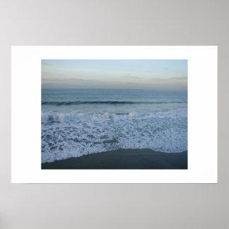 Malibu Seascape Poster