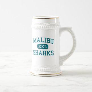 Malibu - Sharks - High School - Malibu California Beer Stein