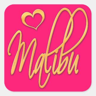 Malibu Square Sticker
