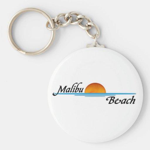 Malibu Sunset Key Chain