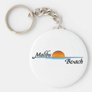 Malibu Sunset Keychain