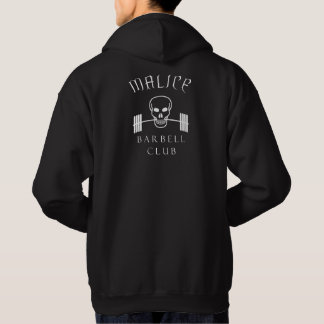 Malice Barbell Hoodie