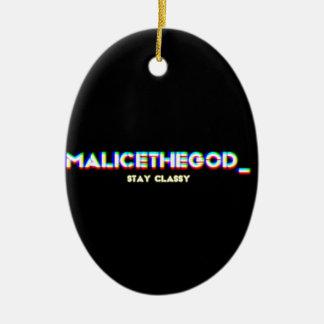 malicetheGOD_ Ceramic Ornament