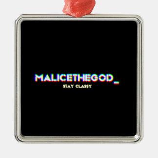 malicetheGOD_ Metal Ornament
