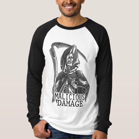 MALICIOUS DAMAGE JERSEY T-Shirt