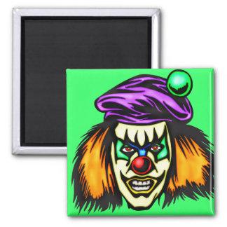 Malicious Evil Clown Magnet