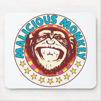 Malicious Monkey Mouse Pad