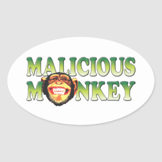 Malicious Monkey Sticker