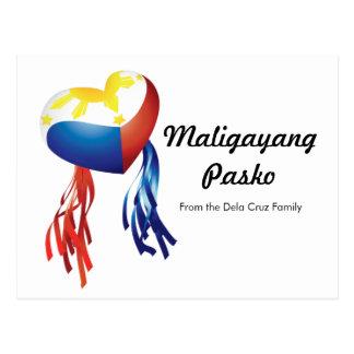 Maligayang Pasko Customize Post Card